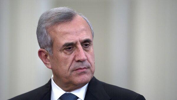 Президент Ливана Мишель Сулейман. Архив
