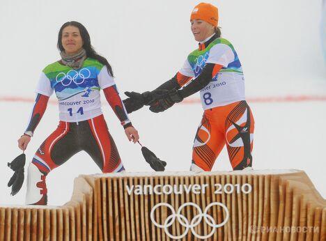 Екатерина Илюхина и Николиен Зауэрбрей