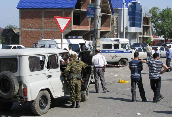 В Махачкале убит глава МВД Дагестана Адильгерей Магомедтагиров
