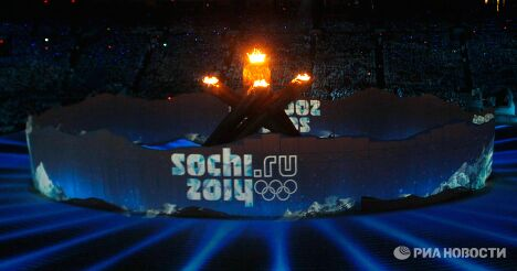 Церемония закрытия ХХI зимних Олимпийских игр в Ванкувере