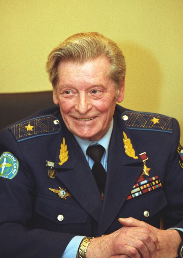 Летчик-испытатель Ильюшин Владимир Сергеевич
