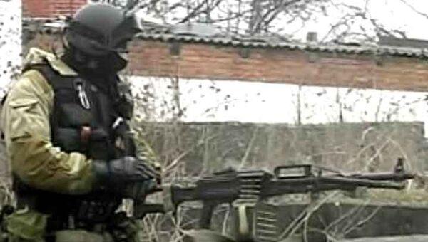 Штурм дома боевика Бурятского. Оперативная съемка