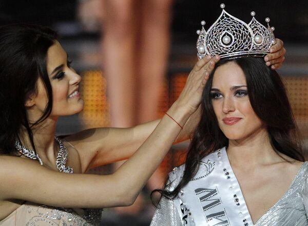 Мисс Россия-2010 - модель из Екатеринбурга Ирина Антоненко