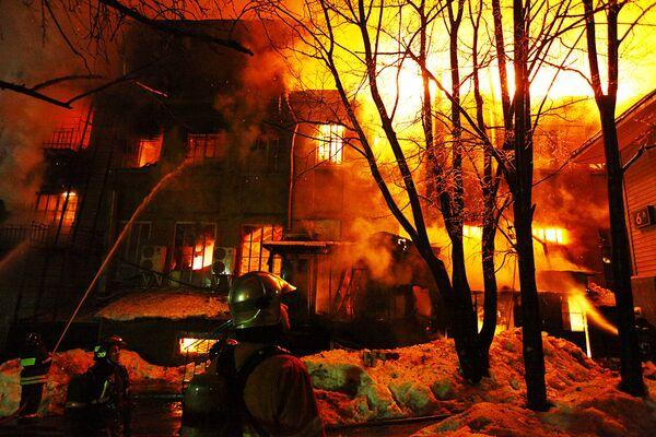 ночной клуб в москве пожар
