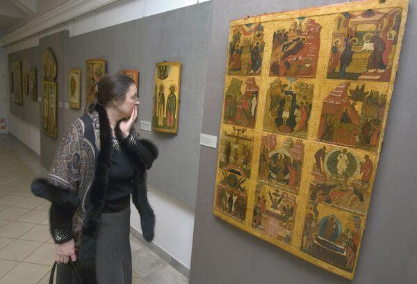 Выставка иконописи. Архив