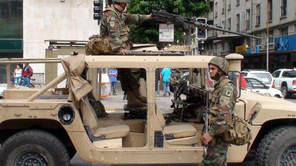 Чилийские военные. Архивное фото
