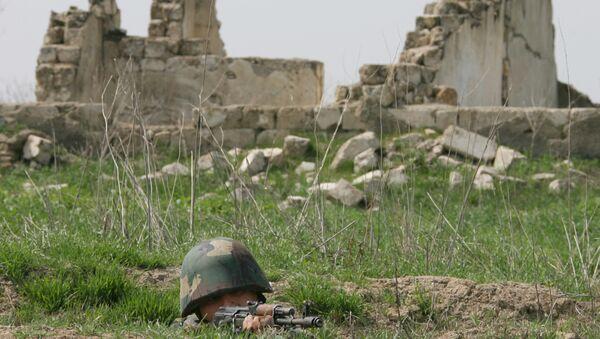 Солдат армии Нагорного Карабаха. Архивное фото