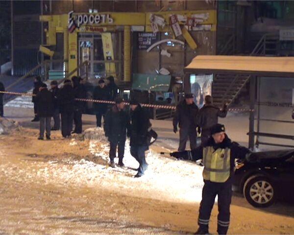 Последствия взрыва в центре Новосибирска. Видео с места событий
