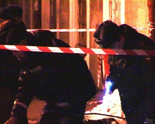 Милиционера убили при проверке документов. Видео с места преступления