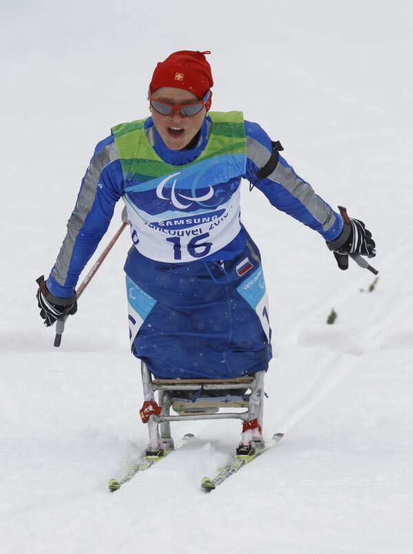 Российская биатлонистка Мария Иовлева