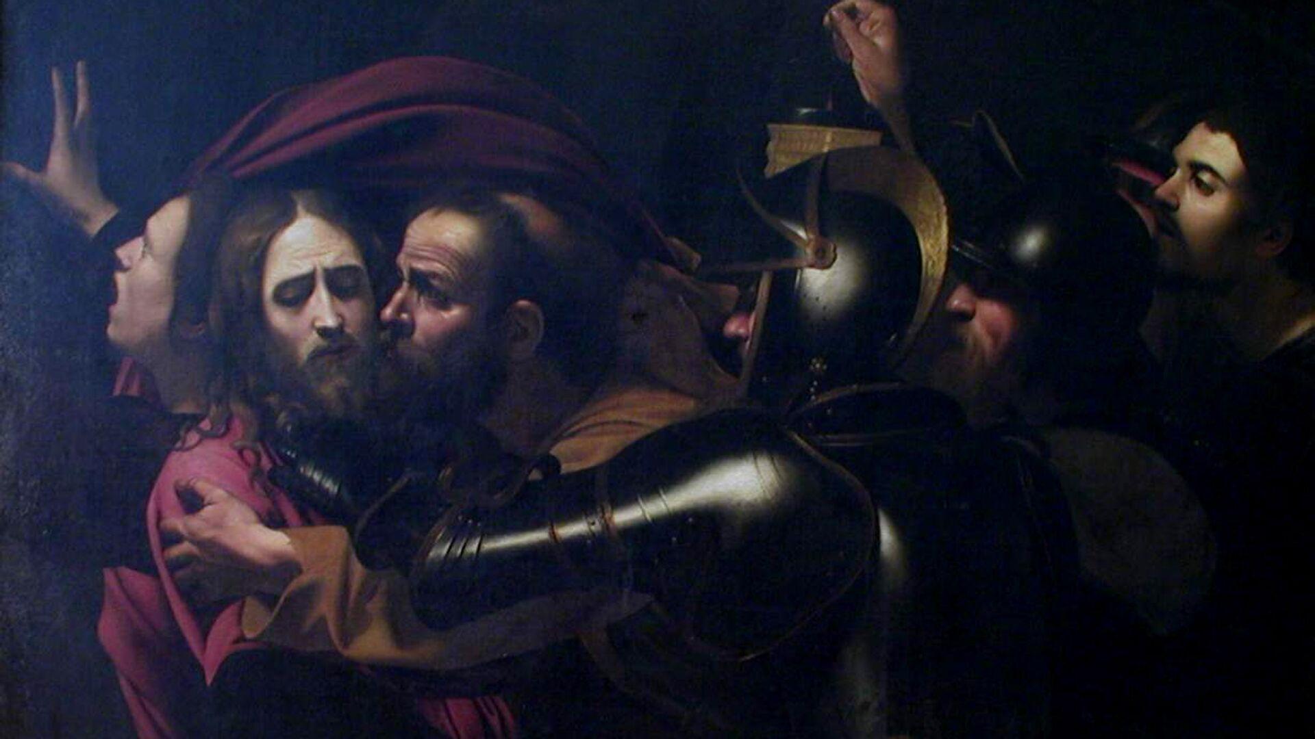 Микеланджело да Караваджо Взятие Христа под стражу, или поцелуй Иуды - РИА Новости, 1920, 16.09.2020