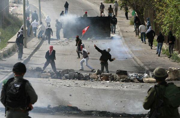 Столкновениях, которые прокатились во вторник по арабским районам Иерусалима