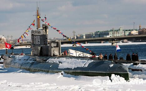 Первый в России частный музей-подлодка открылся в Санкт-Петербурге