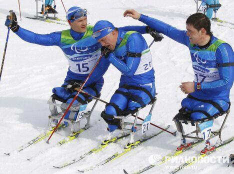 X Зимние Паралимпийские игры. Биатлон. 12,5 км - сидя