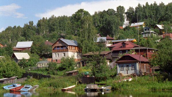В г. Плес Ивановской области. Архивное фото