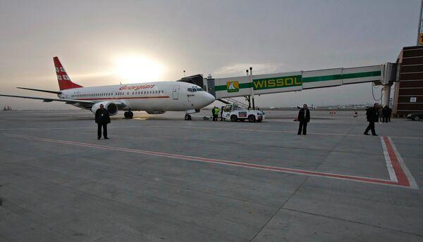Аэропорт Тбилиси. Архивное фото
