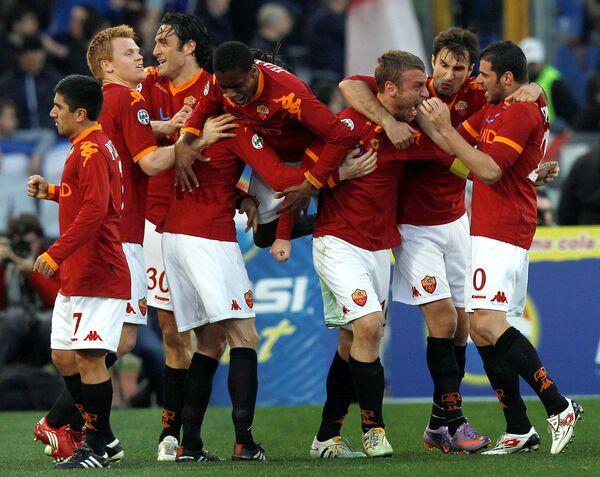 Игроки Ромы