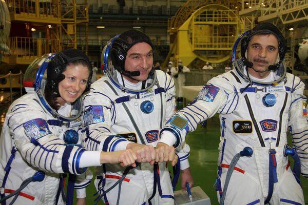 Экипаж корабля Союз ТМА-18