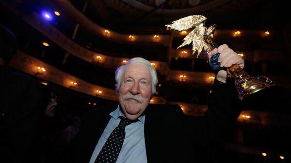 Режиссер Андрей Хржановский на церемонии вручения XXIII Национальной кинематографической премии Ника