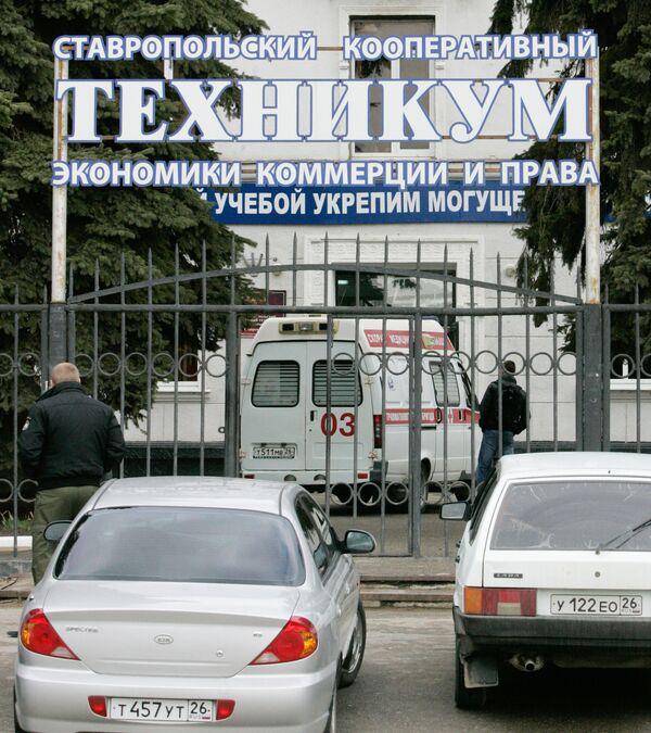 Около 150 человек эвакуированы из общежития в Ставрополе из-за распространения в здании, предположительно, угарного газа