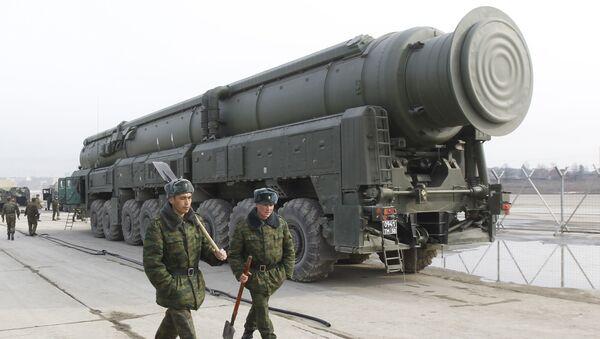 Ракетный комплекс Тополь-М. Архив