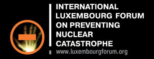 Логотип Международного Люксембургского форума по предотвращению ядерной катастрофы
