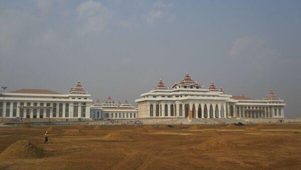 Новое здание парламента Мьянмы в Нейпьидо. Архивное фото