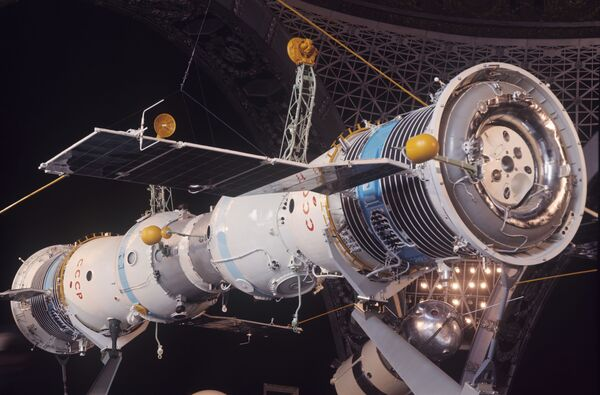 Первая экспериментальная орбитальная космическая станция Союз