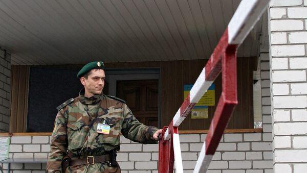 Работа пограничных служб Украины. Архив