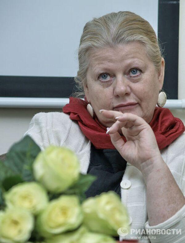 Народная артистка России Ирина Муравьева