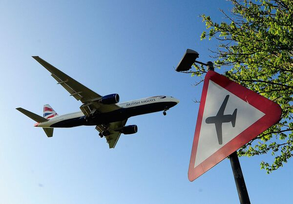 Самолет авиакомпании British Airways