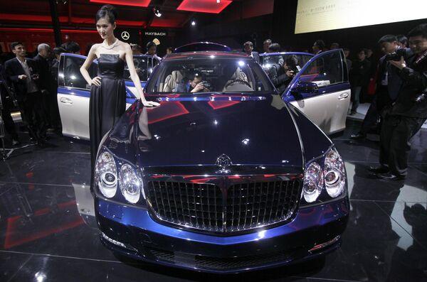 Автомобиль - экспонат Международного Пекинского автосалона Auto China-2010