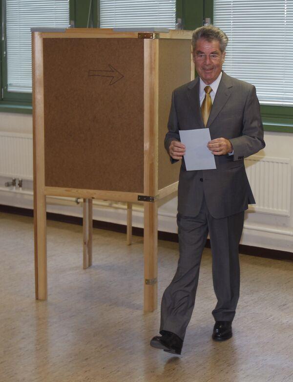 Президент Австрии Хайнц Фишер
