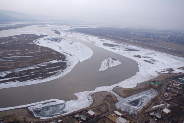 Река Абакан. Архив