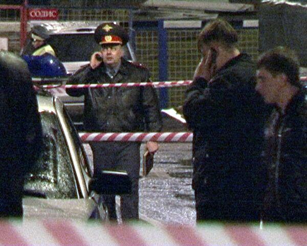 На месте убийства предпринимателя Абдулмеджида Гасанова в Москве