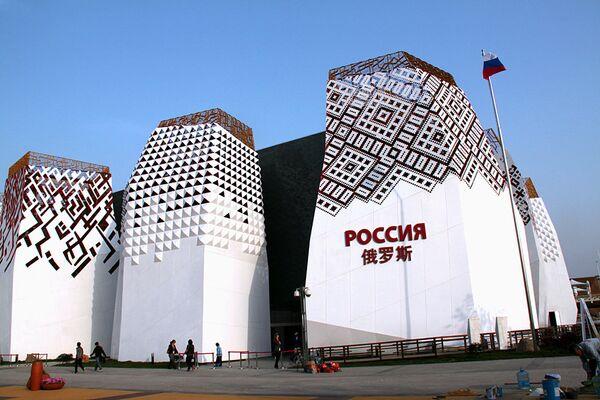 Павильон России на выставке ЭКСПО-2010 в Шанхае