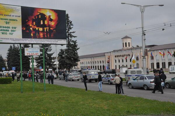 Взрыв на ипподроме в Нальчике