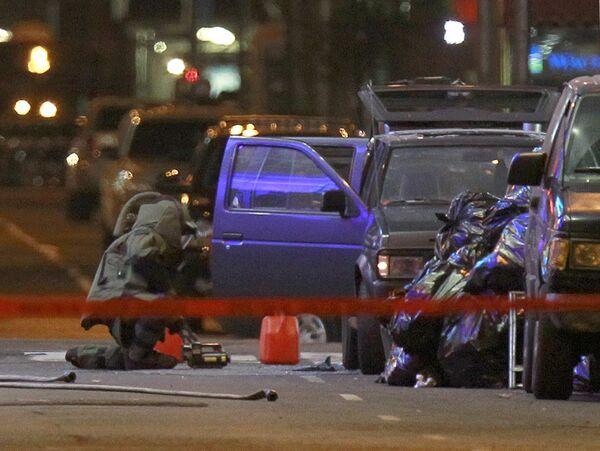 Автомобиль со взрывчаткой обнаружен на Таймс-сквер в Нью-Йорке