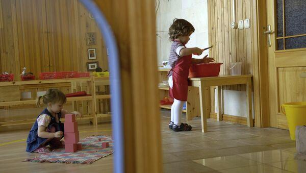 Частный детский сад. Архивное фото