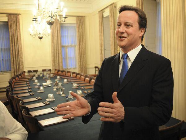 Новый премьер-министр Великобритании Дэвид Кэмерон