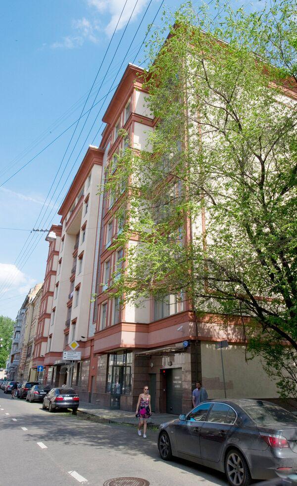 Один из самых дорогих домов Москвы. Архив
