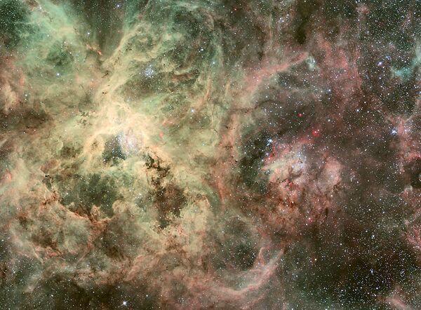 Телескоп Хаббл обнаружил звезду, которую прогнали из детсада
