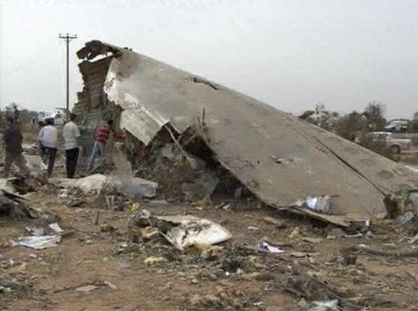 Крушение самолета в Триполи