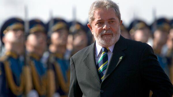 Президент Бразилии Луис Игнасиу Лула да Силва