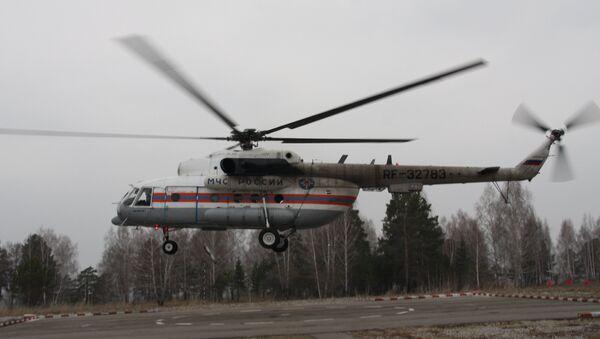 Вертолет Ми-8. Архивнеое фото