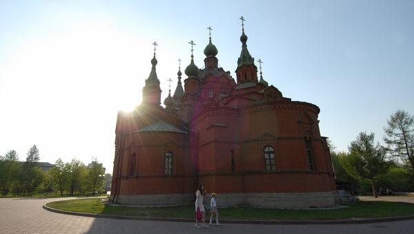 Храм Александра Невского в Челябинске