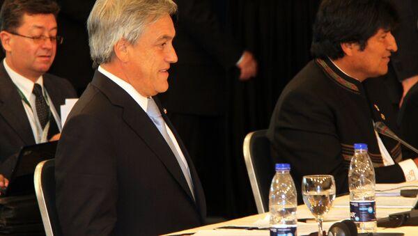 Президент Чили Себастьян Пиньера. Архив
