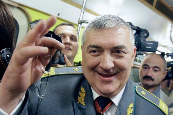 Начальник Московского метрополитена Дмитрий Гаев. Архив