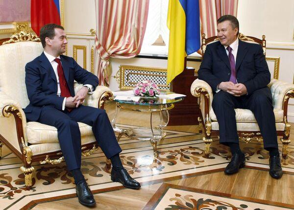 Визит Дмитрия Медведева в Киев