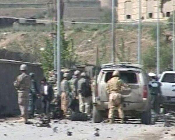 Террорист-смертник подорвал себя в центре Кабула. Видео с места ЧП